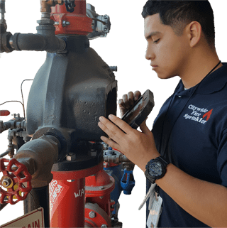 how to become a fire sprinkler inspector